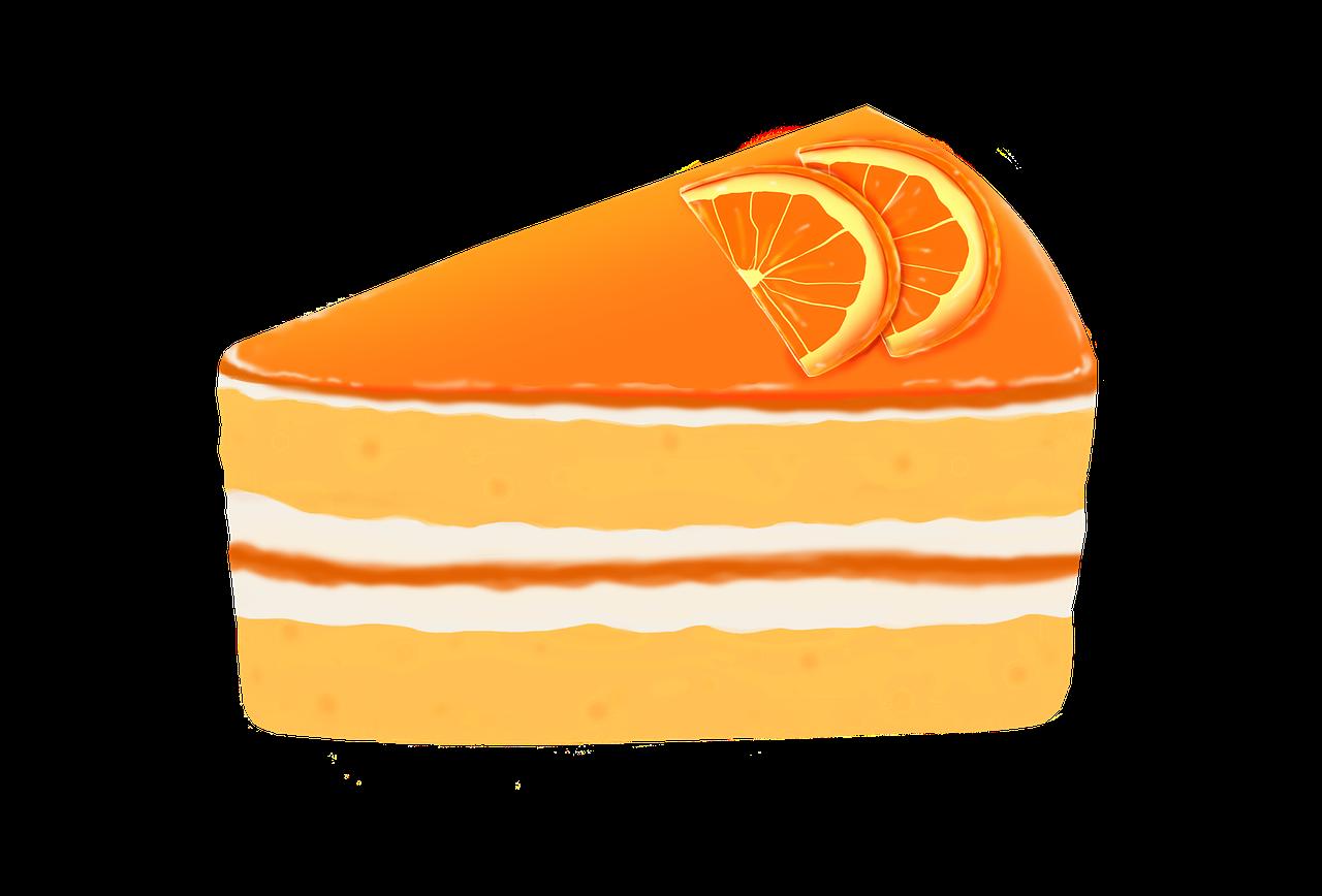 gateau orange