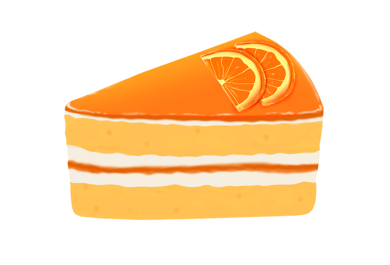 gateau orange